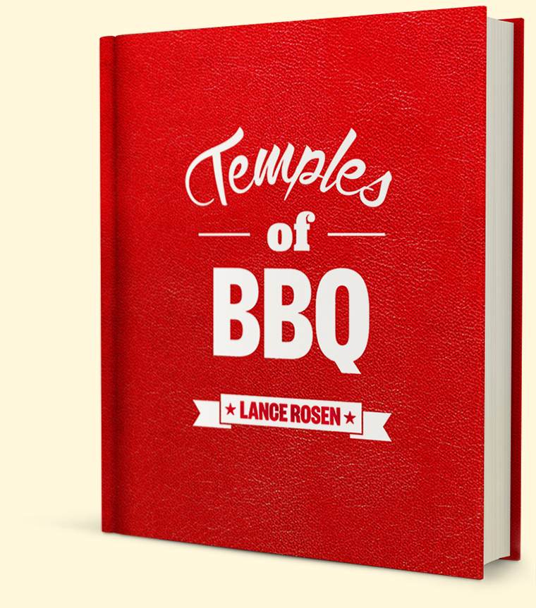 Temples of BBQ book